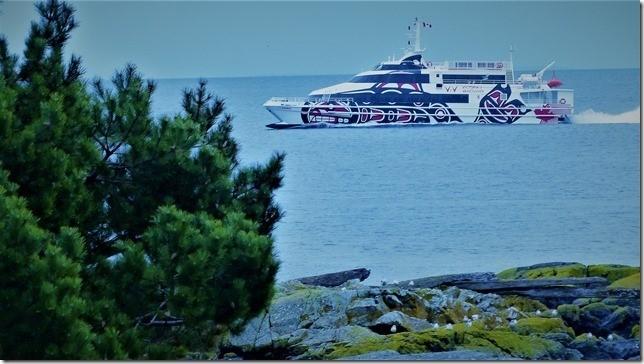 Catamaran to Vancouver