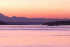 Mount Baker - pink