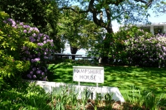 Hampshire House Sign