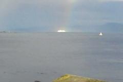 Rainbow in Oak Bay